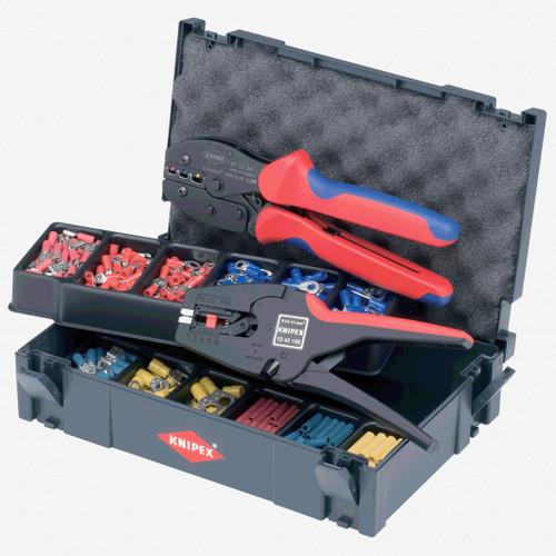 Knipex 97-90-22 288 Piece PreciForce and Self-Adapting Crimp Assortment Set - KC Tool