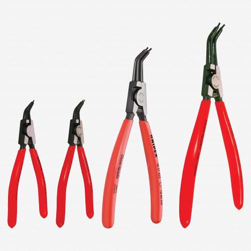 Knipex 9K-00-19-02-US 4 Piece External Circlip Pliers Set 45 Degree - KC Tool