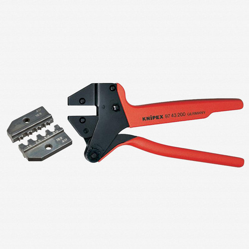 Knipex 9K-00-80-65-US Crimp System Pliers and Crimping Die - solar connectors Solarlok (Tyco) AWG 15-10 w/ Case - KC Tool