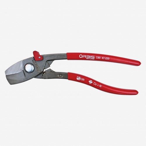 """Orbis 9O 47-220 EvoShark 8.3"""" 25 degree Angled Cable Shears - KC Tool"""