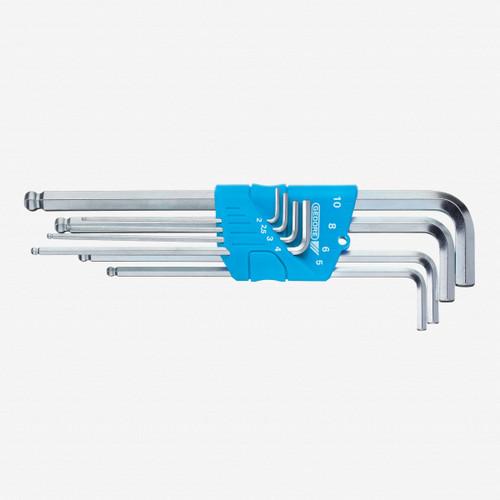 Gedore H 42 KEL-88 Hexagon Allen key set in holder 8 pcs 2-10 mm - KC Tool