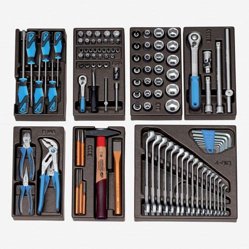 Gedore S 1500 ES-01 Module assortment small, 104 pcs - KC Tool