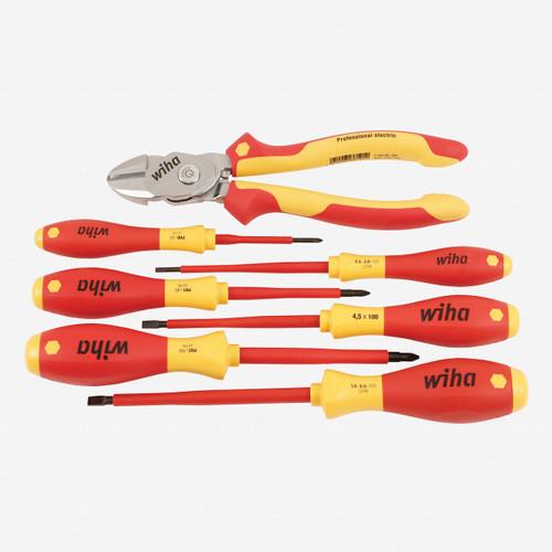 Wiha 32942 7 Piece Insulated BiCut with Drivers Set - KC Tool