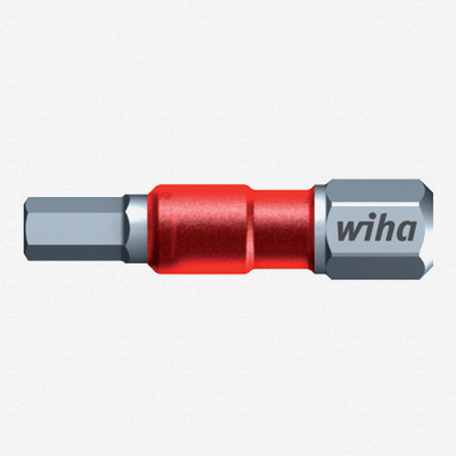 "Wiha 76530 1/8"" x 29mm Hex Terminator Impact Bit - KC Tool"