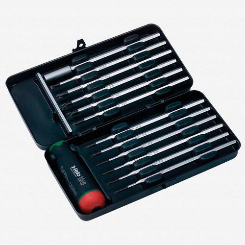 Felo 52039 12 piece Torque Limiting Screwdriver Set - 5-13 in/lbs - KC Tool
