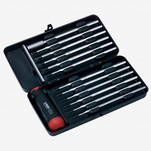 Felo 52043 12 piece Torque Limiting Screwdriver Set - 26-48 in/lbs - KC Tool