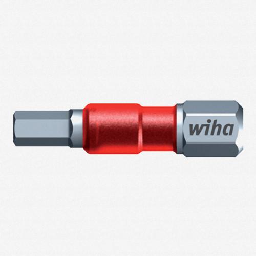 "Wiha 76832 5/32"" x 29mm Hex Terminator Impact Bit (2 Pack) - KC Tool"