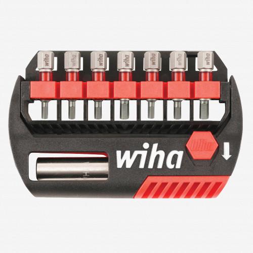 Wiha 76893 8 Piece Hex Inch / SAE and Metric Bit Buddy Terminator Impact Insert Bit Set - KC Tool