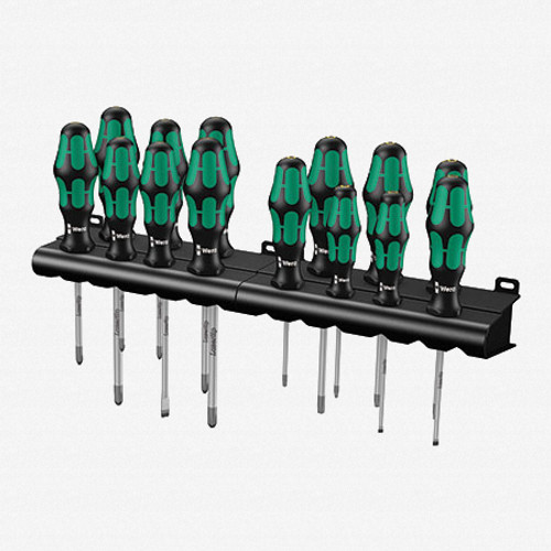 Wera 105630 Kraftform Big Pack 300 14 Piece Slotted/Phillips/Pozidriv/Torx - KC Tool