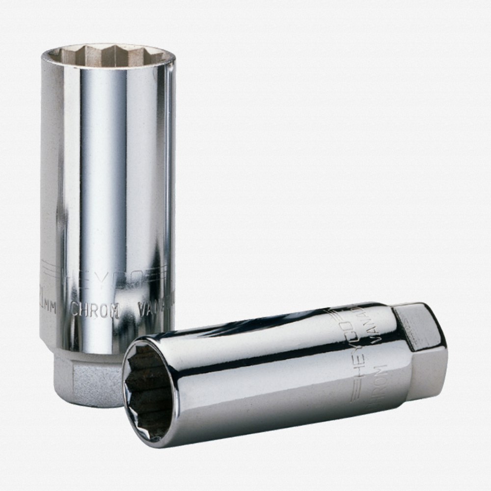 "Heyco 0401901 Spark Plug Socket 13/16"", 3/8"" Drive - KC Tool"