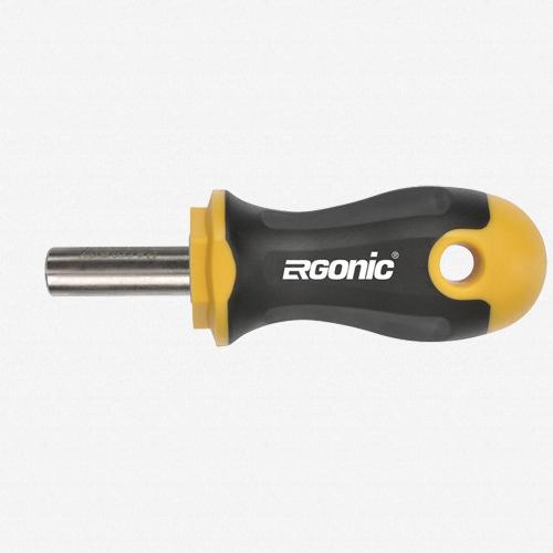 """Felo 61727 Ergonic Stubby Magnetic 1/4"""" Bitholder - KC Tool"""