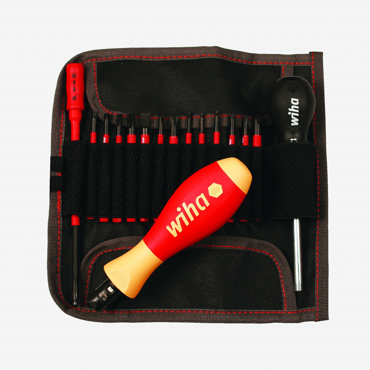 Wiha 28792 16 Piece Insulated Torque Screwdriver Set 18-62 in-lbs. - KC Tool