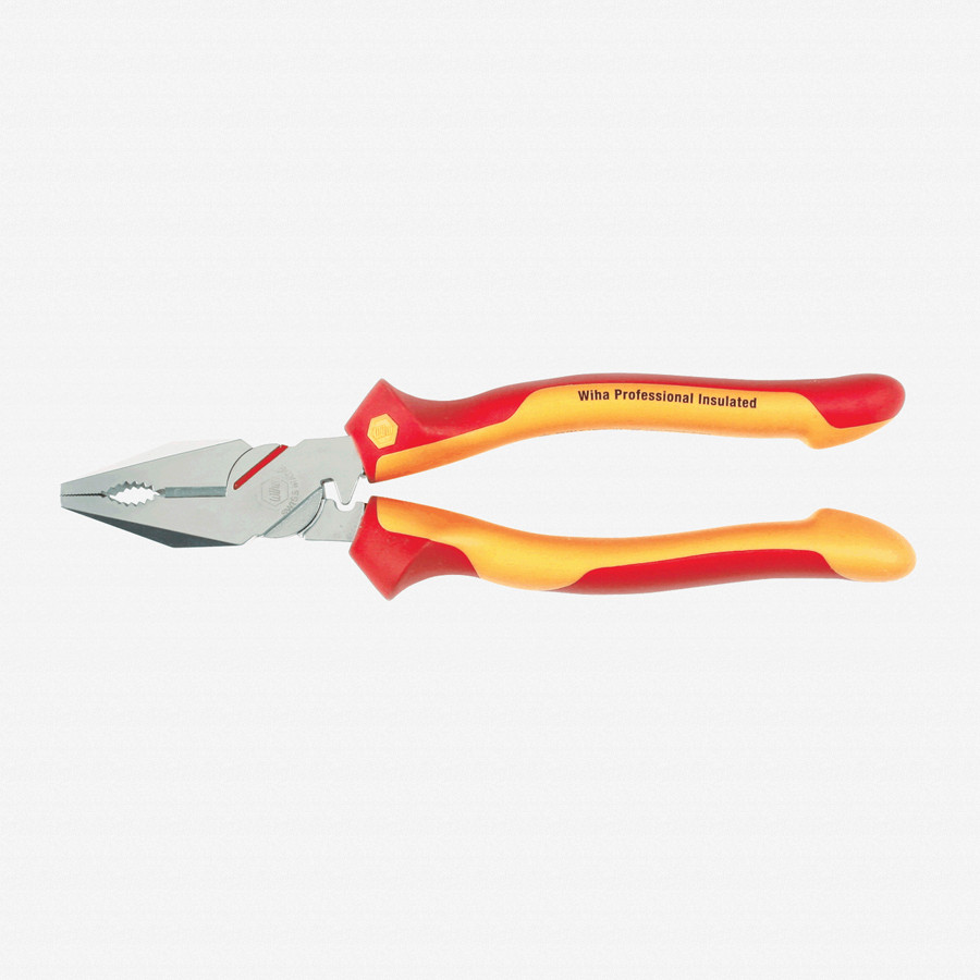 Wiha 32821 Lineman's Pliers w/Crimper - Insulated - KC Tool