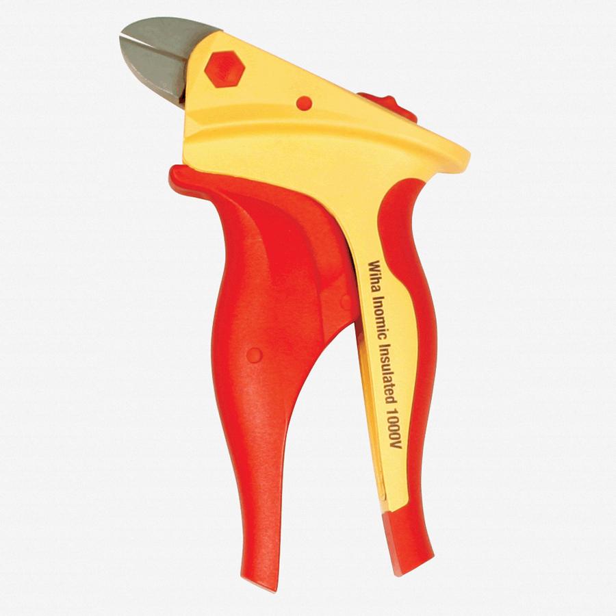 Wiha 32854 Inomic Diagonal Cutters - Insulated - KC Tool