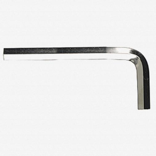 "Wiha 35143 0.050"" x 40mm Hex L-Key Short Arm Nickel - KC Tool"