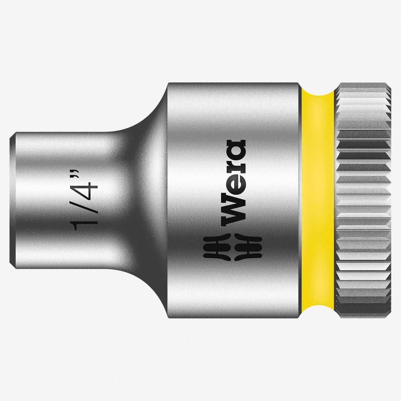 "Wera 003569 1/4"" x 3/8"" Zyklop Socket - KC Tool"