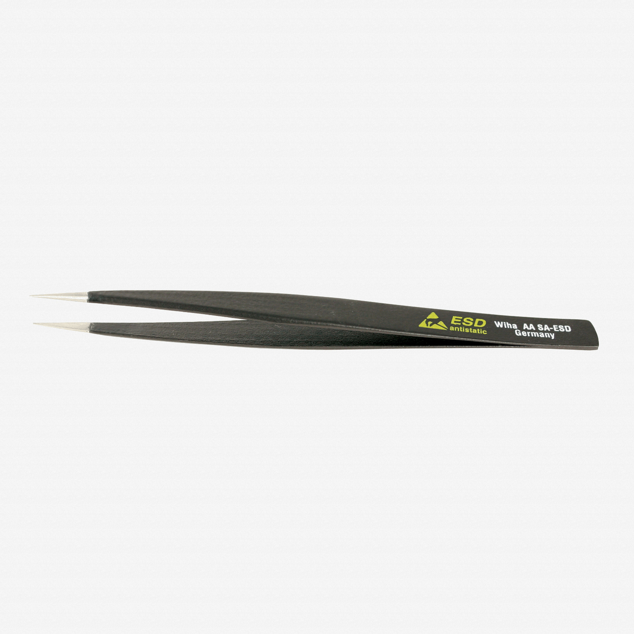 Wiha 44501 Universal Fine Point AA SA  - 130mm Tweezers - KC Tool