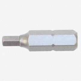 Wiha 71306 2 x 25mm Hex Insert Bit - KC Tool
