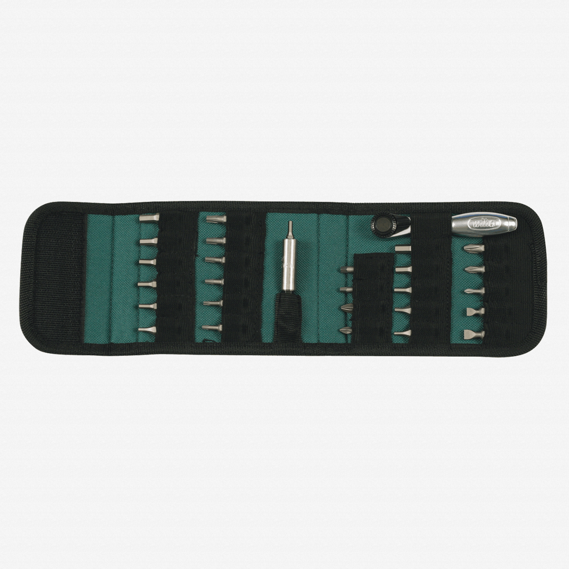 Wiha 74992 28 Piece Bit Ratchet Compact Pouch Set - KC Tool