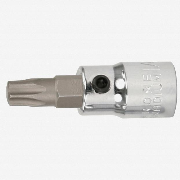 """Wiha 76123 T27 Torx 1/4"""" Drive Bit Socket - KC Tool"""