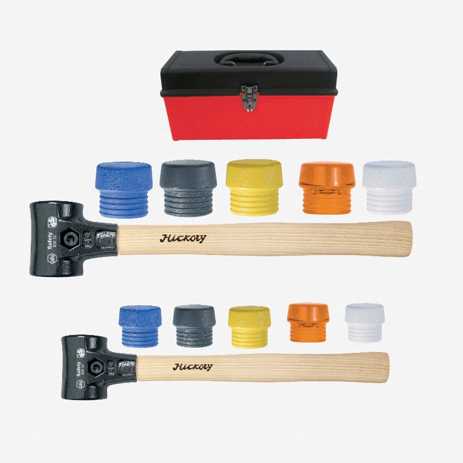 Wiha 83290 14 Piece Split Head Mallet Tool Box Set - KC Tool