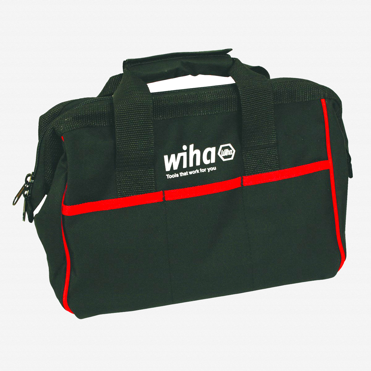 "Wiha 91291 12.5"" Heavy Duty Canvas Tool Bag - KC Tool"