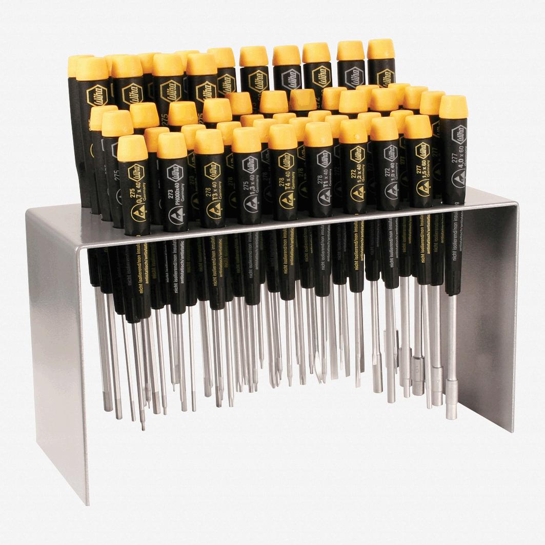 Wiha 92092 50 Piece ESD Safe Master Technicians Bench Top Tool Set - KC Tool