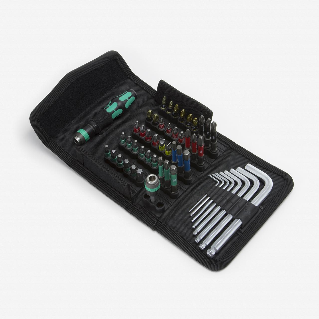 Wera 057460 Kraftform Kompakt 100 Set - KC Tool