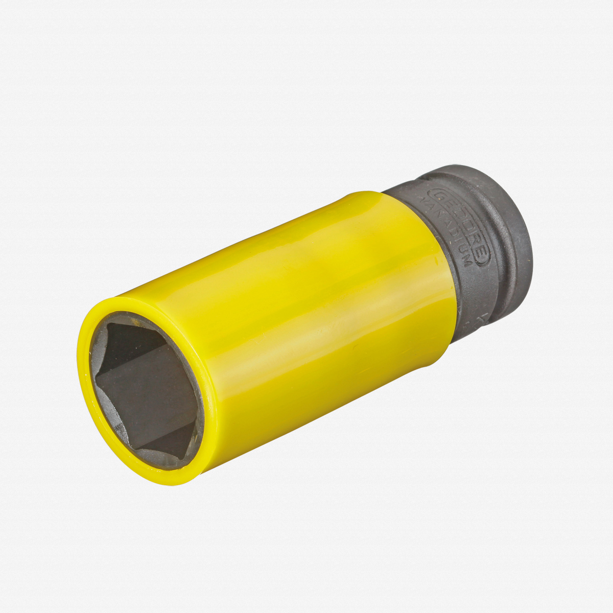 """Gedore K 19 LS 22 Impact socket 1/2"""" with protective sleeve, 22 mm - KC Tool"""