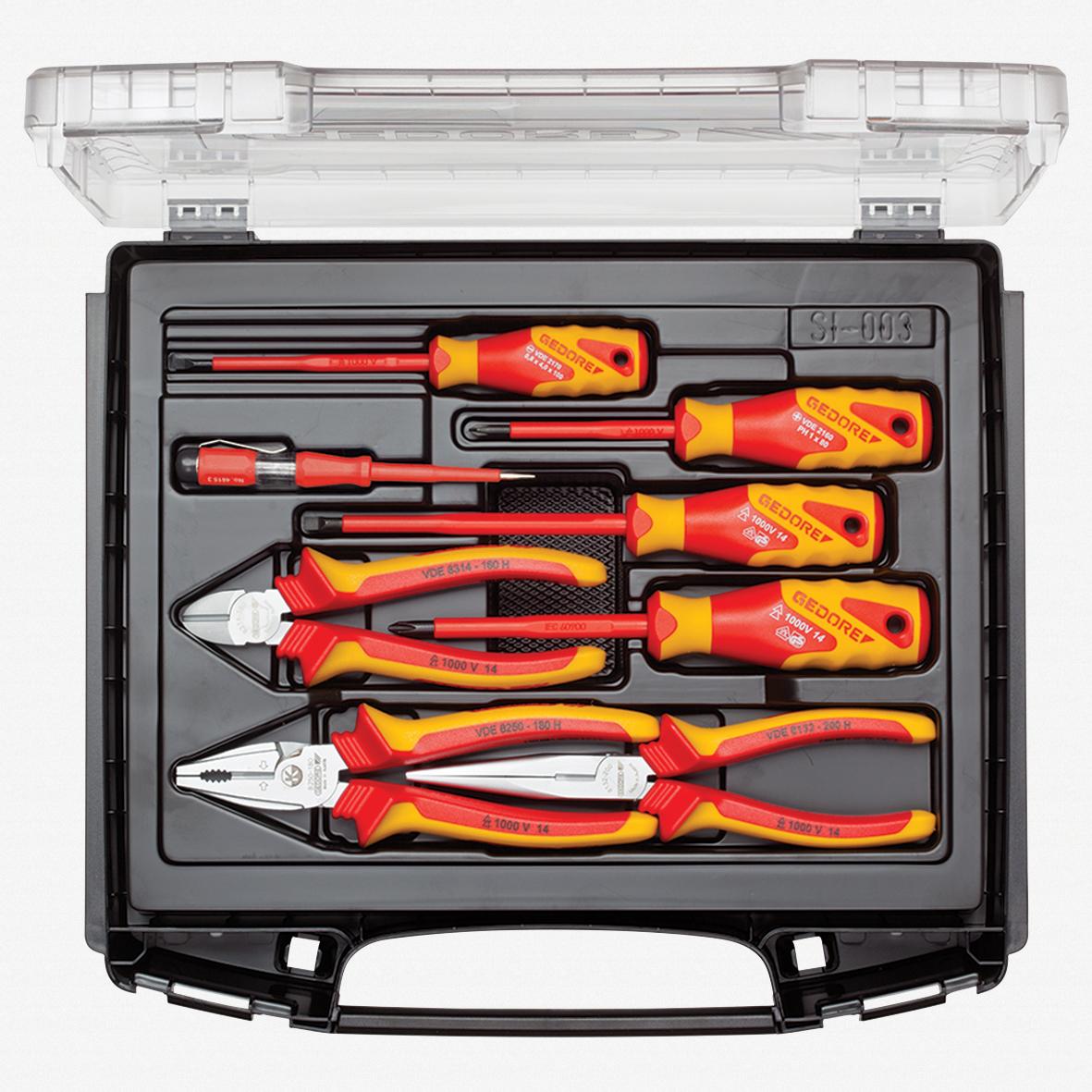 Gedore RZB1-17 VDE Tool set, 8 pcs - KC Tool