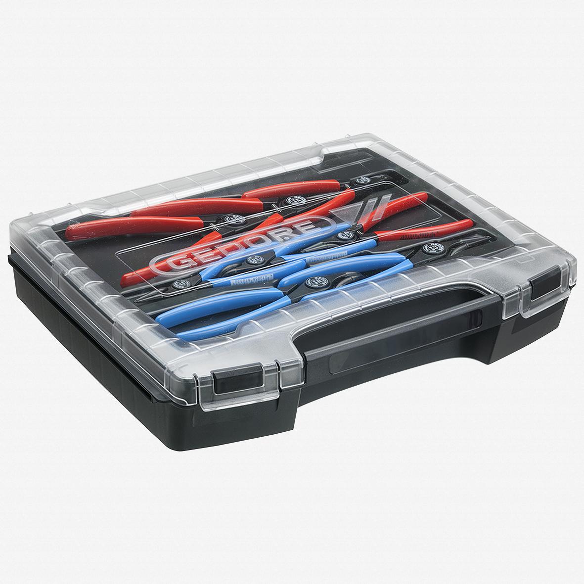 Gedore RZB1-3 Pliers set, 8 pcs - KC Tool - KC Tool