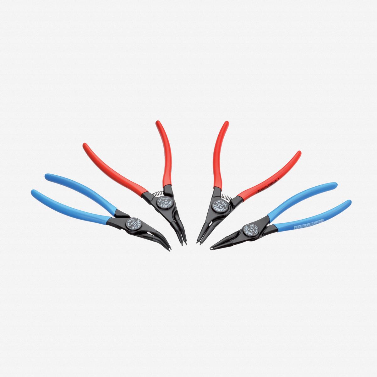 Gedore S 8024 Set of circlip pliers, 4 pcs - KC Tool