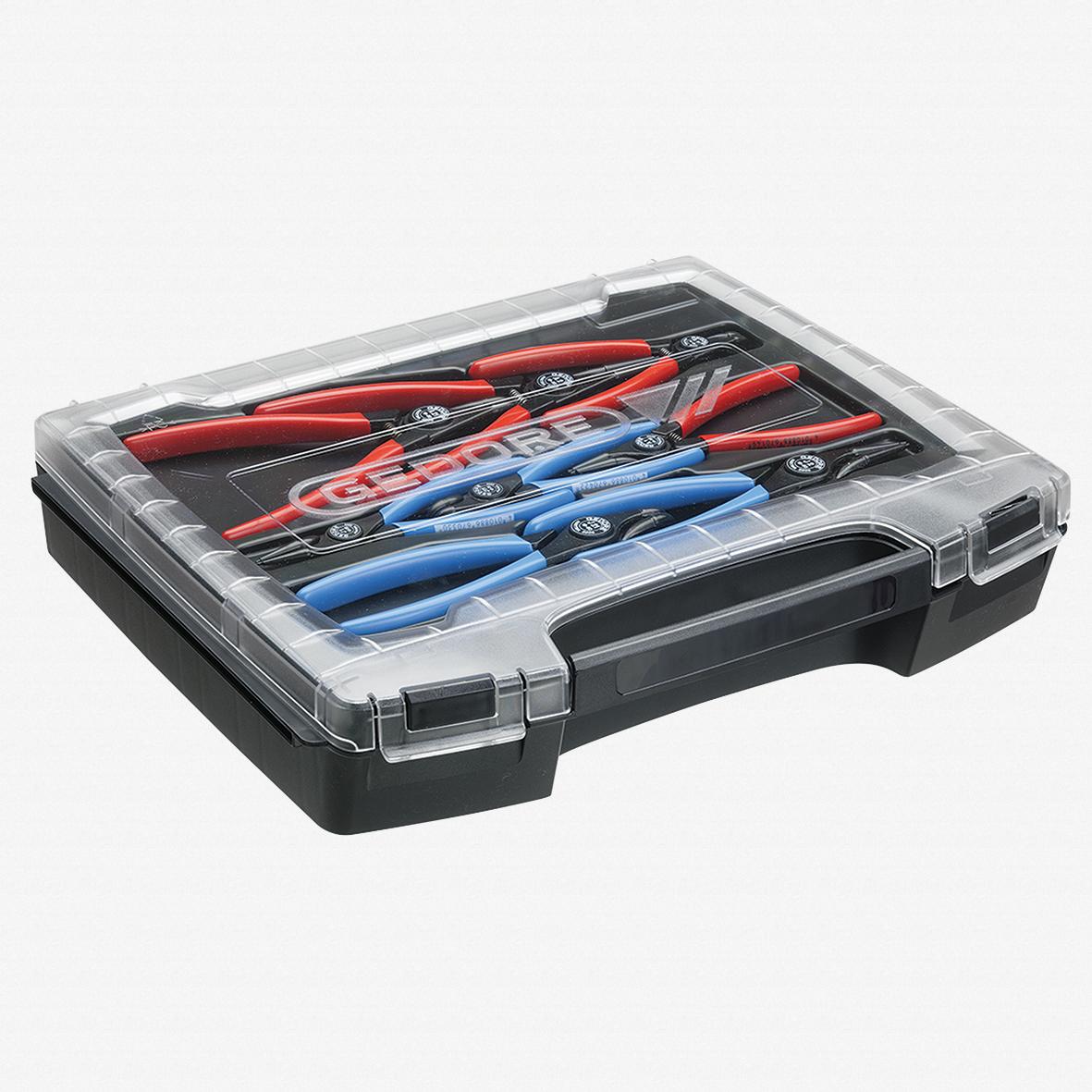 Gedore RZB1-19 Set of circlip pliers, 8 pcs - KC Tool - KC Tool