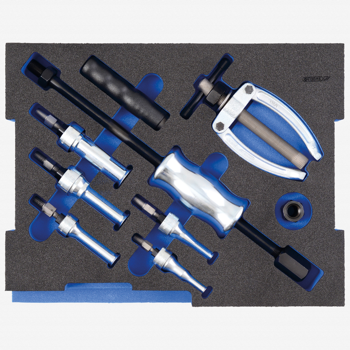 Gedore 1100 CT2-1.30 Internal extractor assortment, in 2/2 L-BOXX 136 Module - KC Tool
