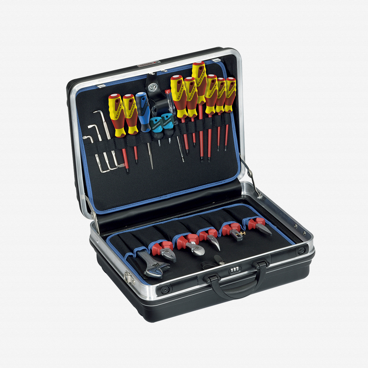 Gedore 1090 Tool case electrician 90 pcs - KC Tool