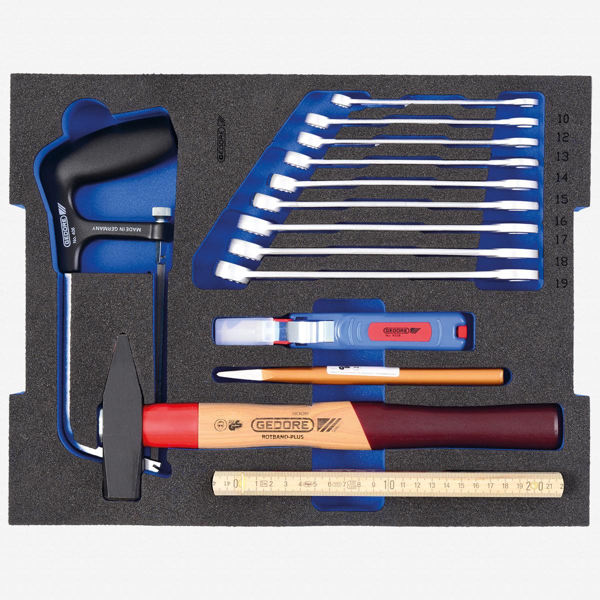 Gedore 1100 CT2-BASIC Tool assortment STARTER in 2/2 L-BOXX 136 Module - KC Tool