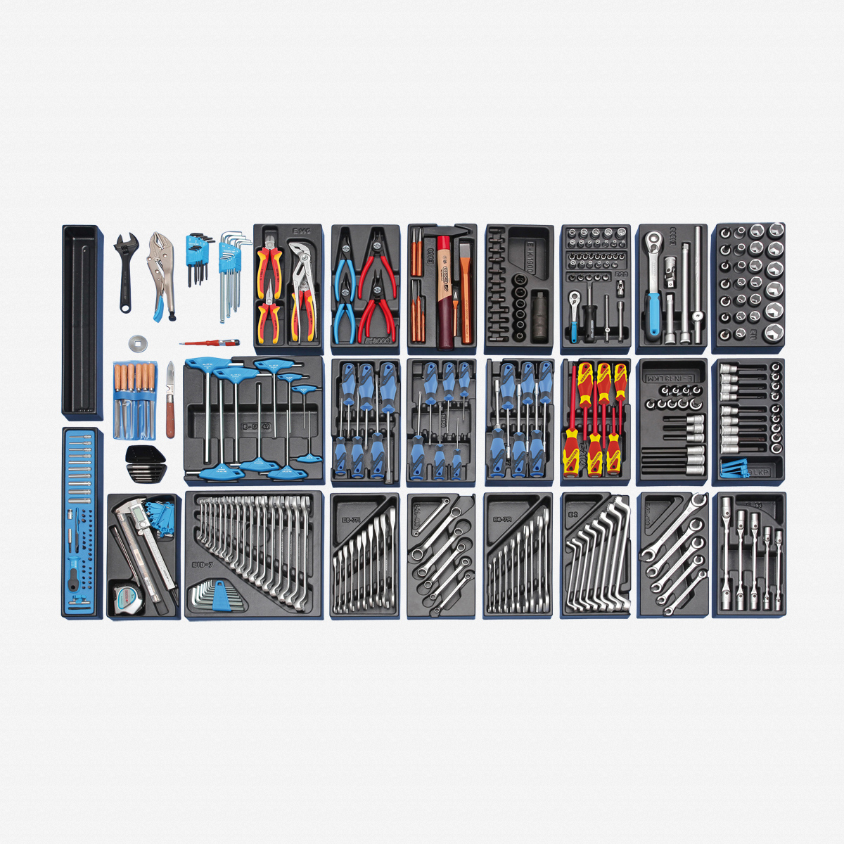 Gedore S 1500 ES-03 Module assortment large, 325 pcs - KC Tool