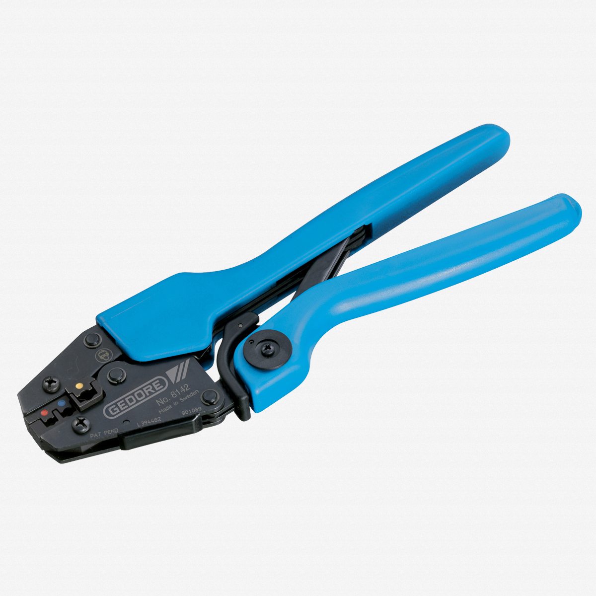 Gedore 8142 Precision crimp wrench for insulated terminals - KC Tool