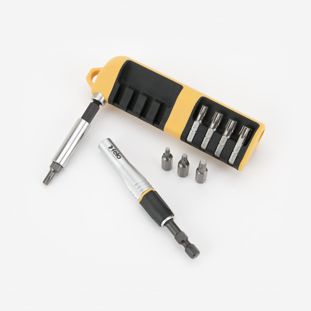 Felo 63429 Impact 8 Piece Torx Insert Bit Set - KC Tool