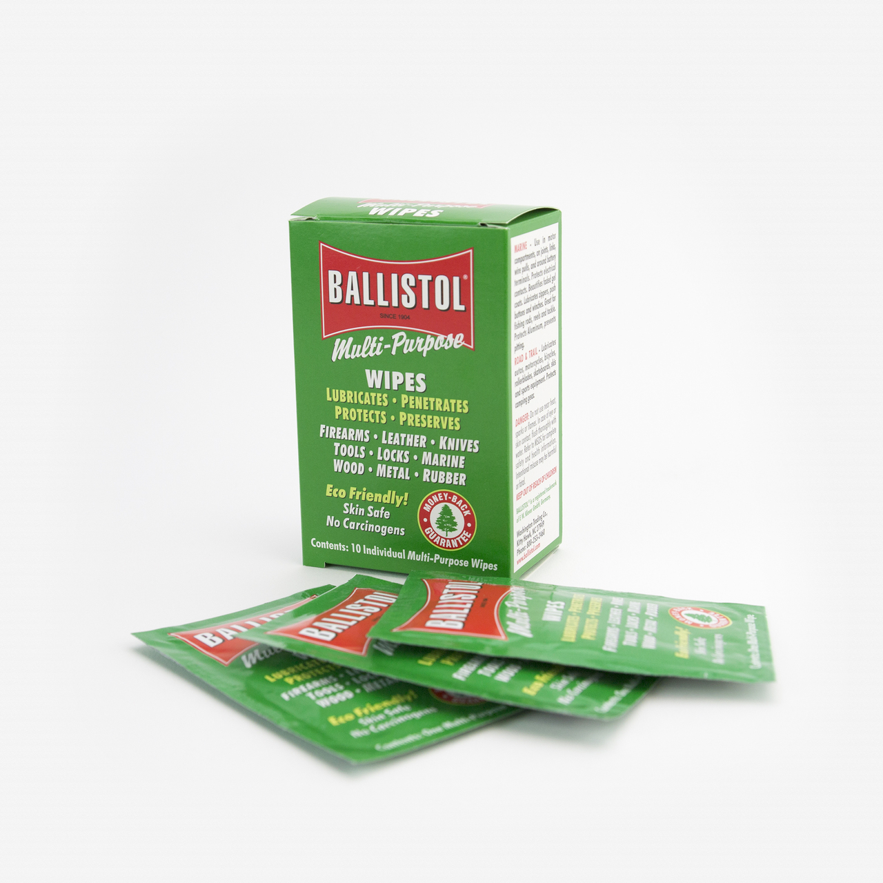 Ballistol Multi-Purpose Tool Oil Wipes - 10 Pack - KC Tool