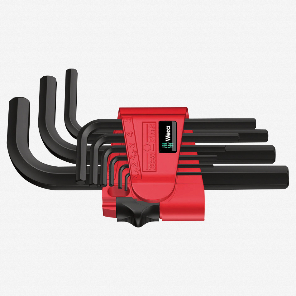 Wera 021737 Metric Hex L-key Set - KC Tool
