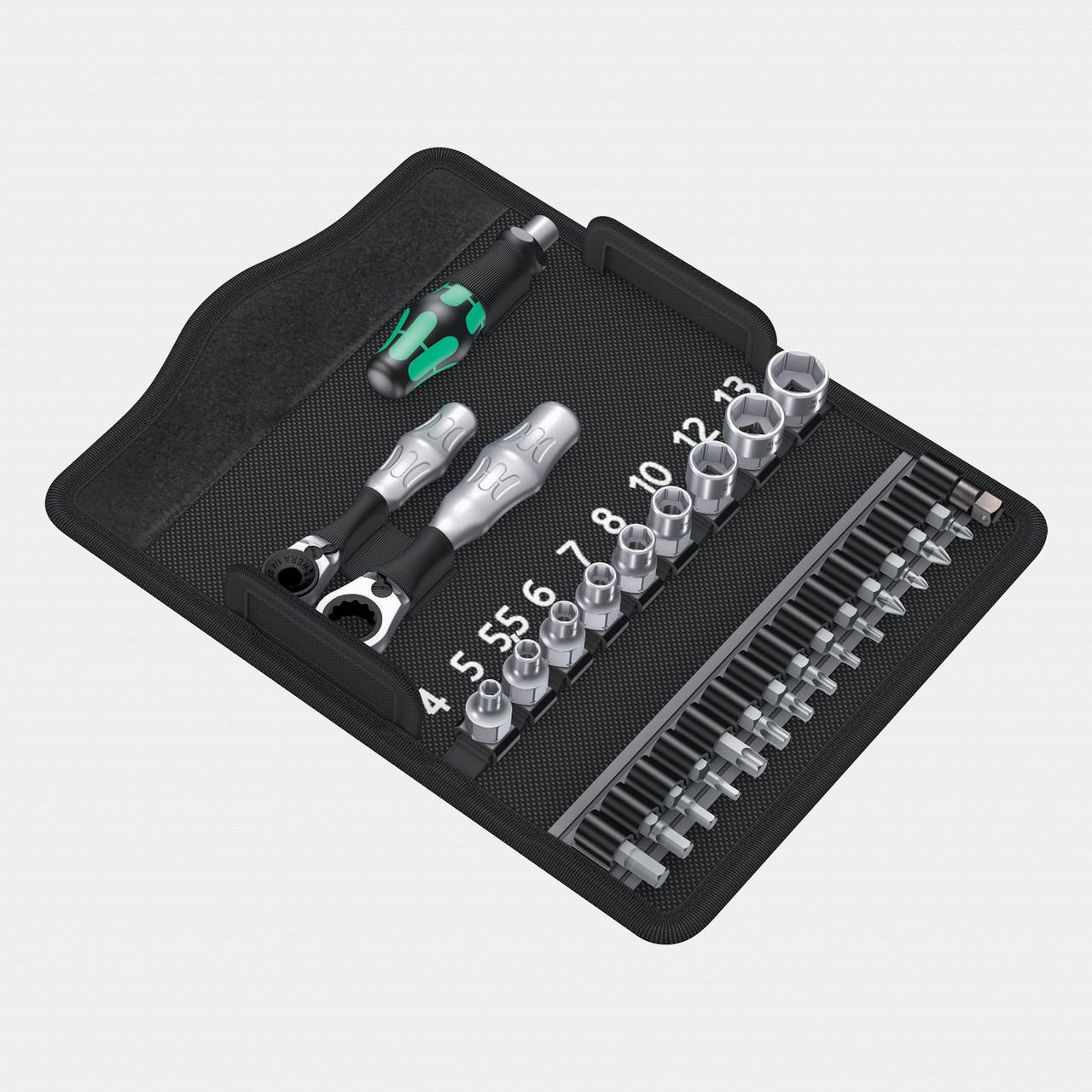 Wera 135918 Kraftform Kompakt Zyklop Mini 2 Set - KC Tool