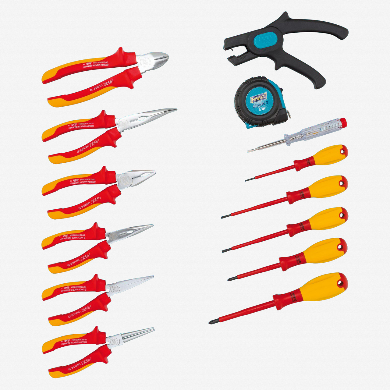 Hazet 0-20/14 Tool assortment VDE  - KC Tool