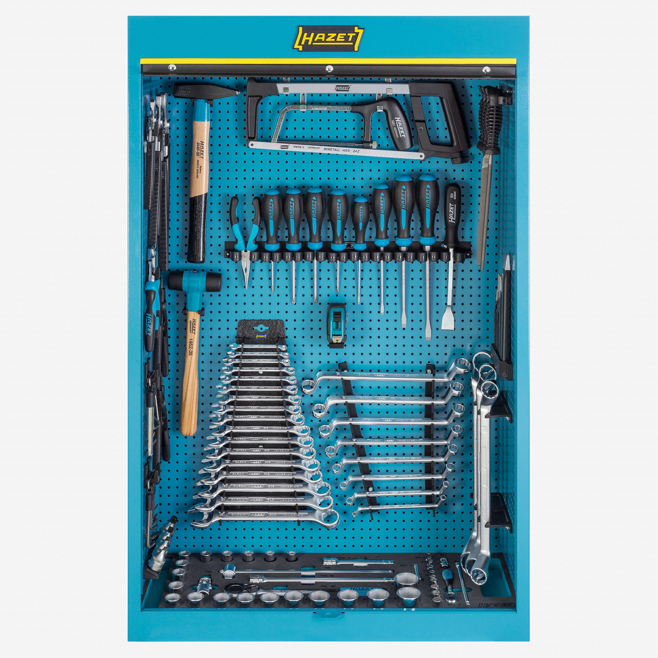 Hazet 111/116 Tool cabinet with assortment  - KC Tool