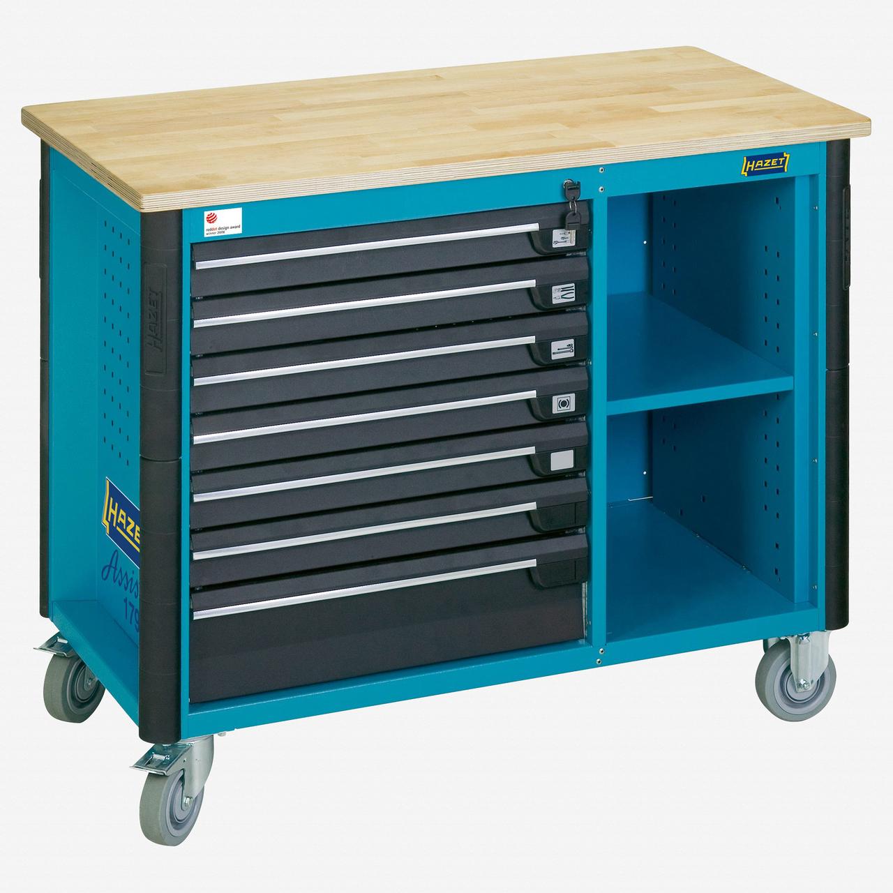Hazet 179W-7 Mobile work bench  - KC Tool