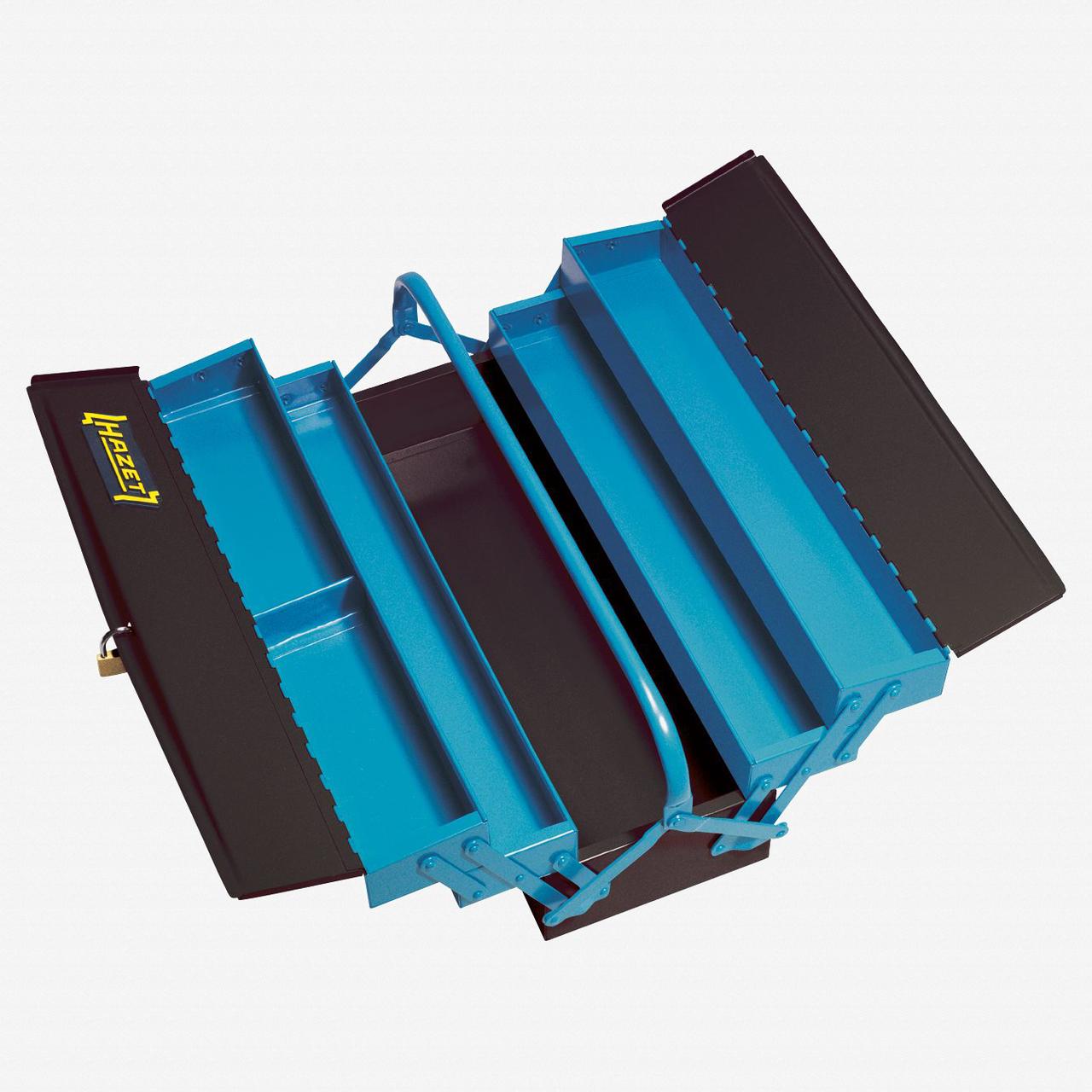 Hazet 190L Metal tool box, empty  - 245 x 575 x 210mm - KC Tool