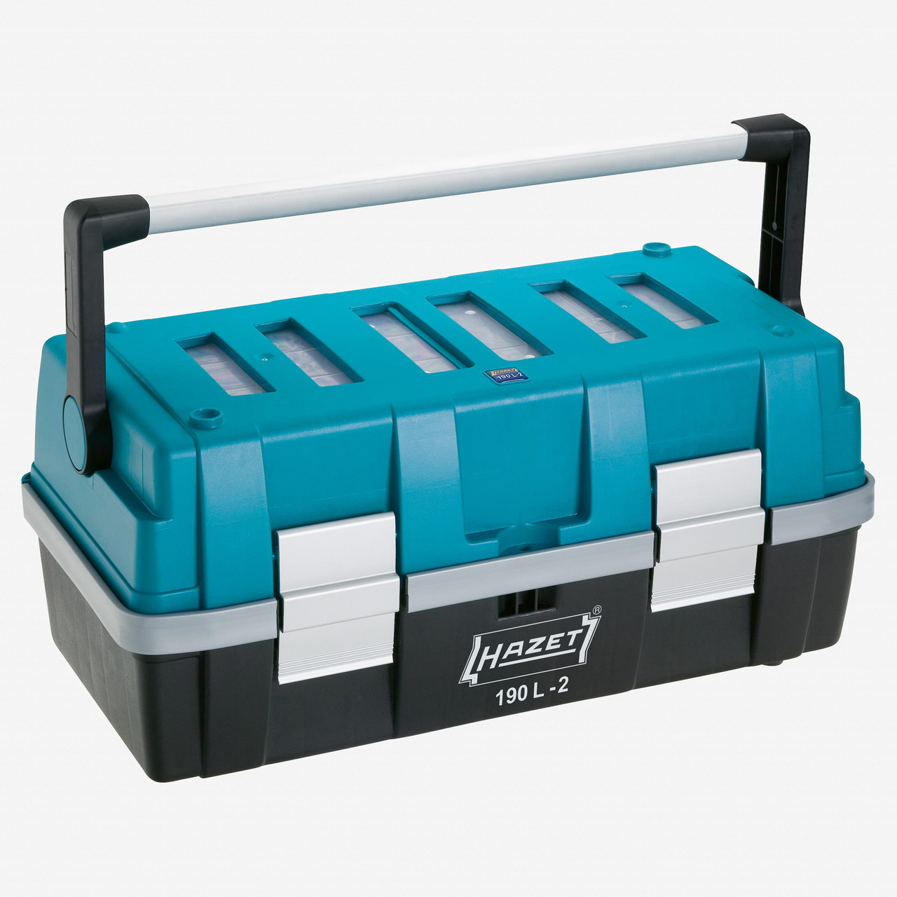 Hazet 190L-2 Plastic tool box - 215 x 470 x 250mm - KC Tool