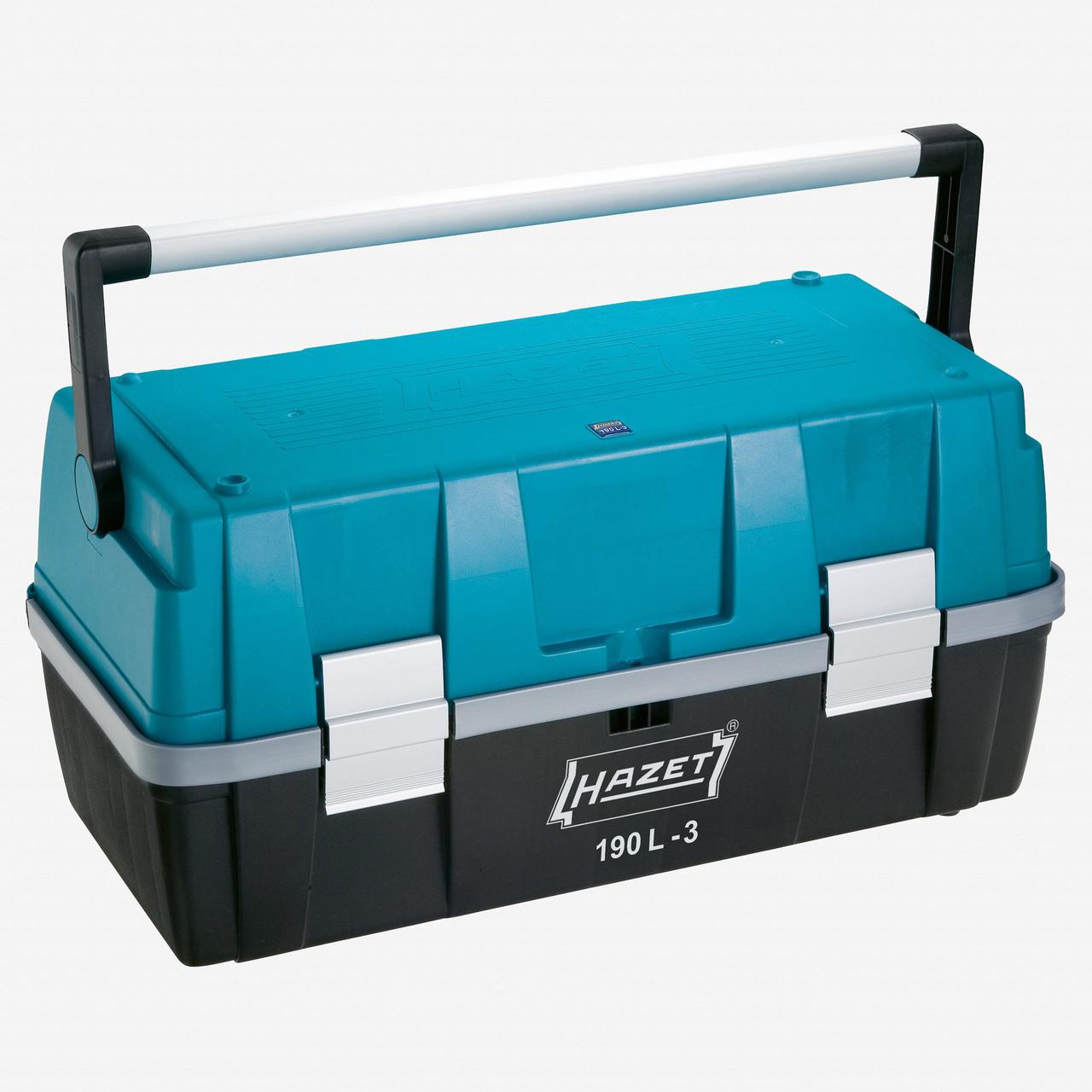 Hazet 190L-3 Plastic tool box - 270 x 550 x 250mm - KC Tool