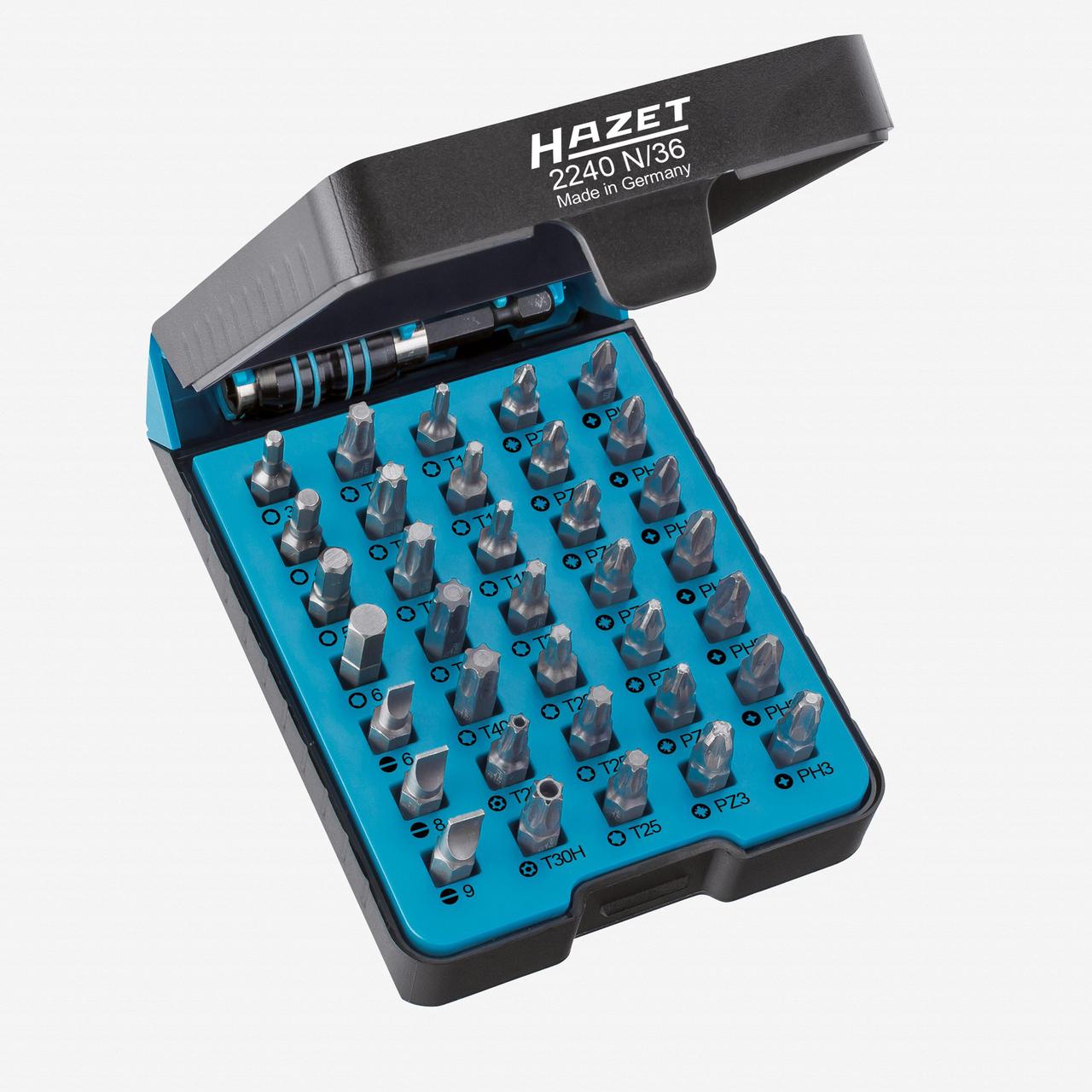 "Hazet 2240N/36 ""BitE""-box - screwdriver bit set  - KC Tool"