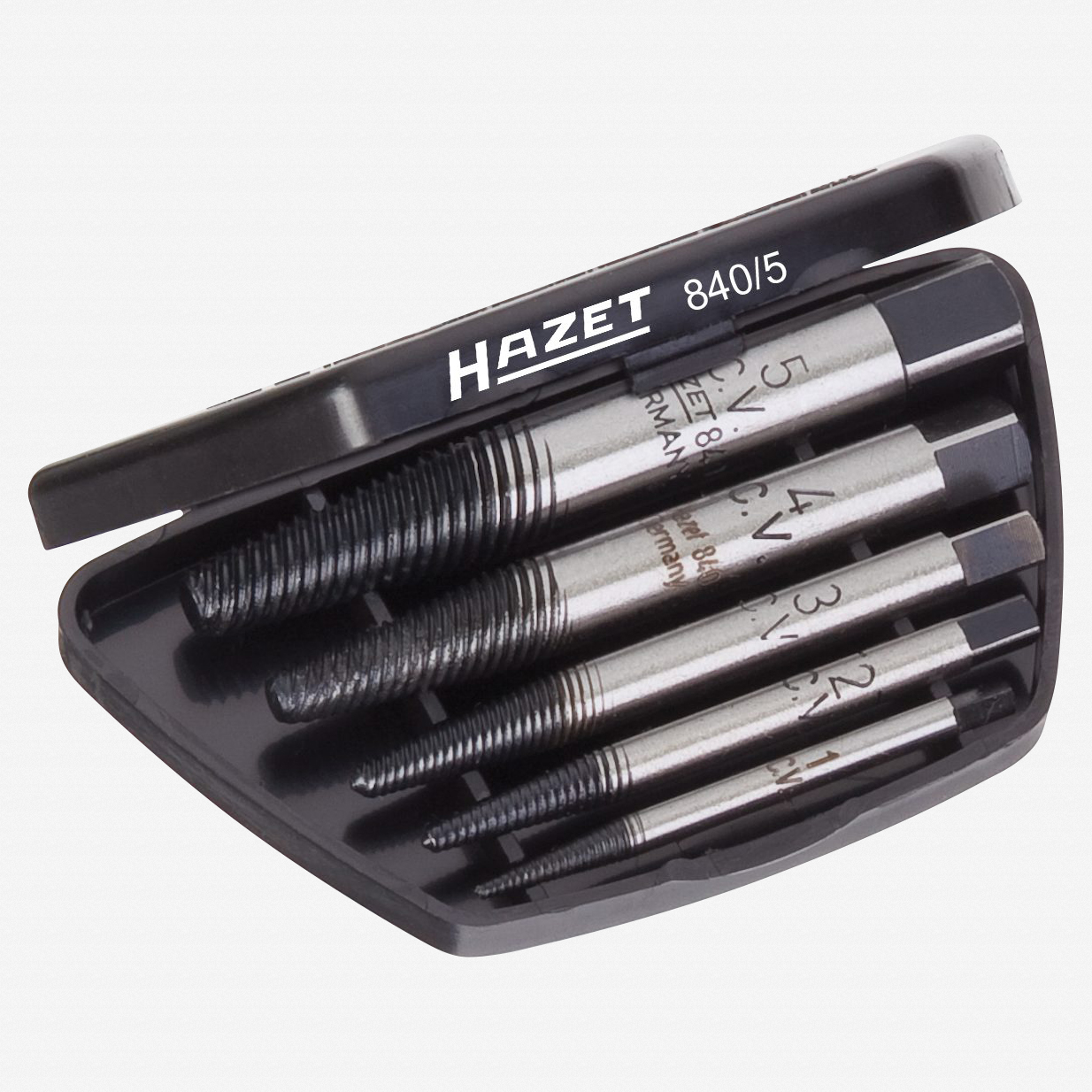 Hazet 840/5 Screw extractor set  - KC Tool